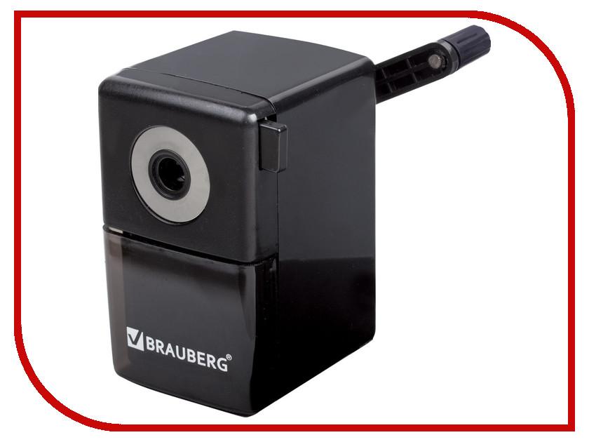 Канцелярский набор Точилка механическая Brauberg BlackJack Black 222516