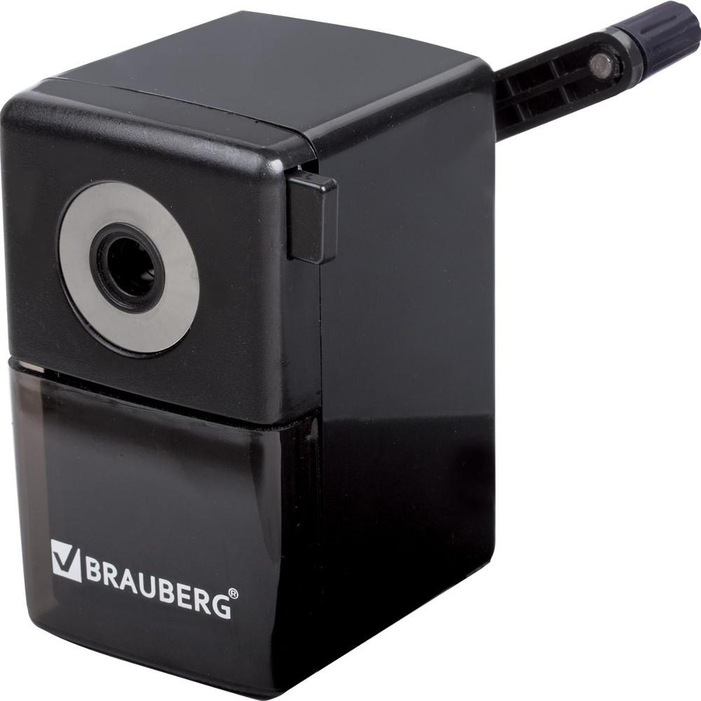 Точилка механическая Brauberg BlackJack Black 222516