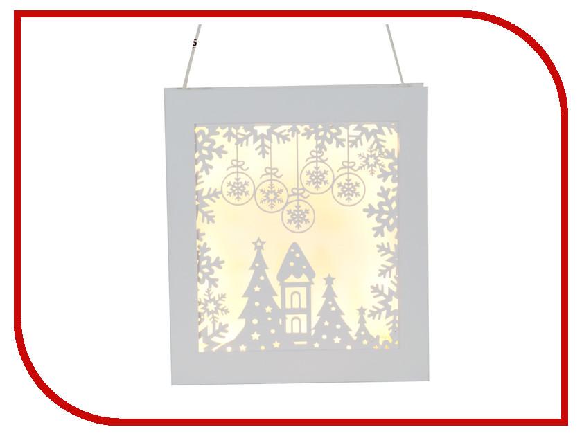 Светящееся украшение Star Trading Snowflake Frame White 270-82 гирлянда star trading ab сердечки 1 9m white 726 10