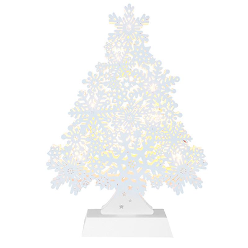 Светящееся украшение Star Trading Snowflake Tree White 270-55