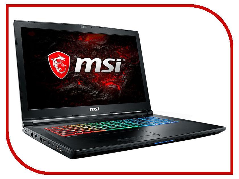 Ноутбук MSI GP72MVR 7RFX-679RU Leopard Pro 9S7-179BC3-679 (Intel Core i7-7700HQ 2.8 GHz/8192Mb/1000Gb/No ODD/nVidia GeForce GTX 1060 3072Mb/Wi-Fi/Bluetooth/Cam/17.3/1920x1080/Windows 10 64-bit) ноутбук msi gs43vr 7re 089ru phantom pro 14 1920x1080 intel core i7 7700hq 9s7 14a332 089