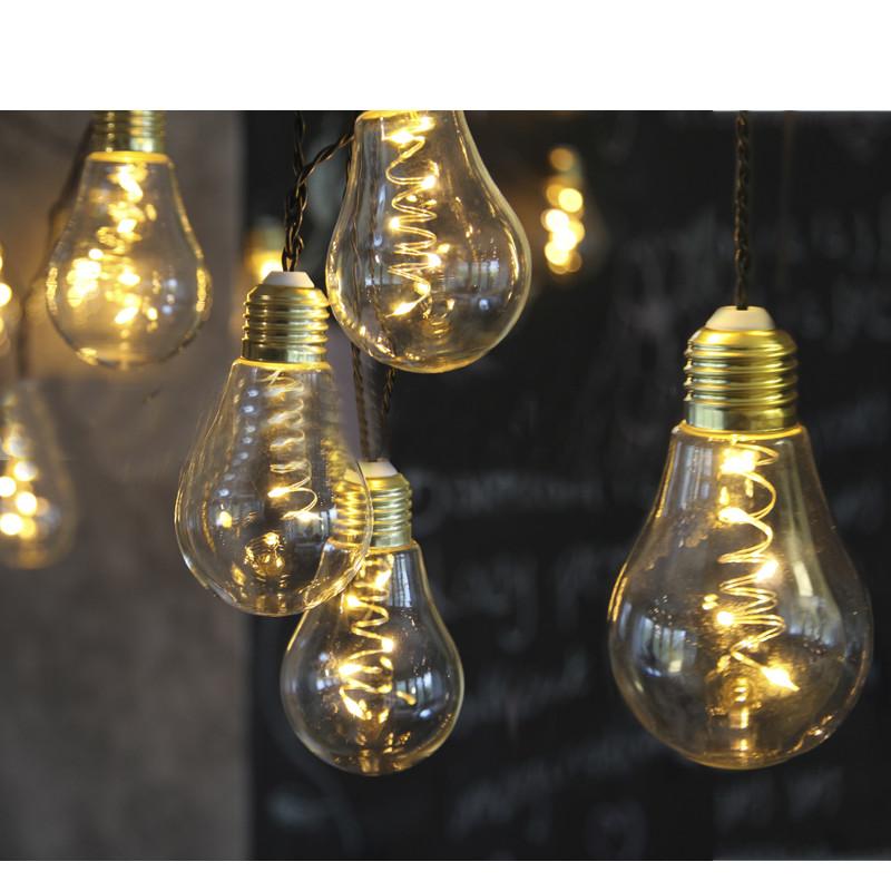Гирлянда Star Trading Glow 10-Light 8.6m Warm Yellow 476-33