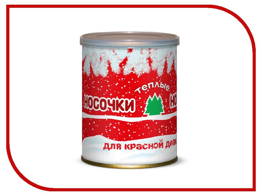 Носочки теплые Новогодние для красной девицы Canned Socks White-Red 416086 носочки для любимой мамочки canned socks 415881