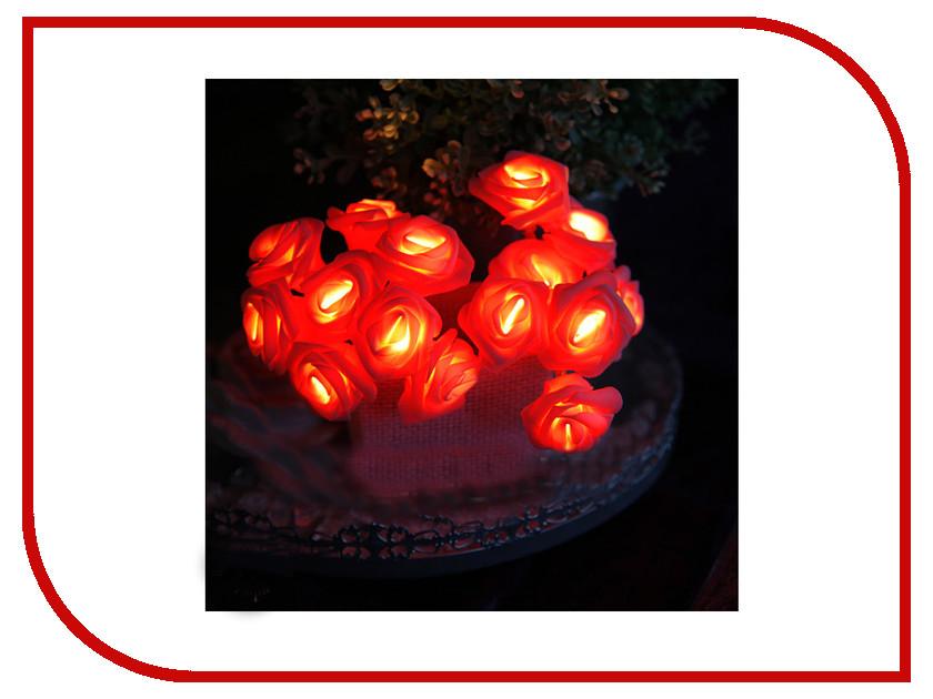 Гирлянда Star Trading AB Розы в корзинке 15 LED 2.6m Red 726-31