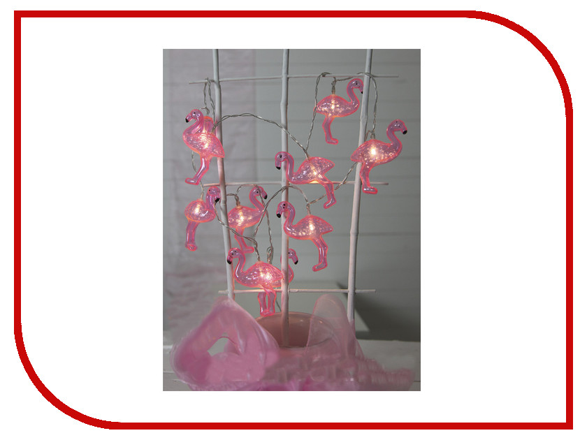 Гирлянда Star Trading Fruity 10 LED 1.8m Pink 726-93 star trading heart