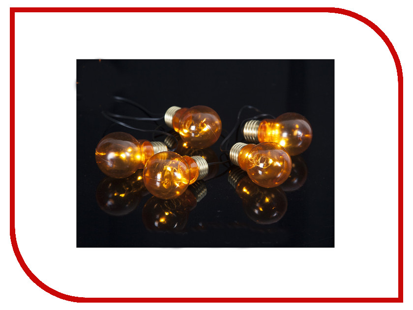 Гирлянда Star Trading AB Glow LED 1m Amber 726-97