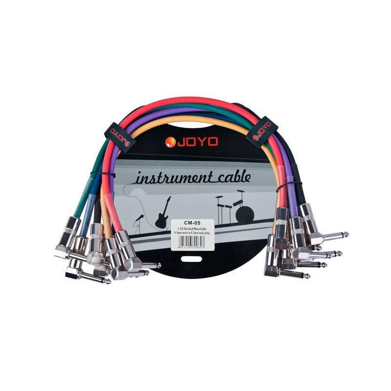 Аксессуар JOYO CM-05 Patch Cables Набор joyo jt 309