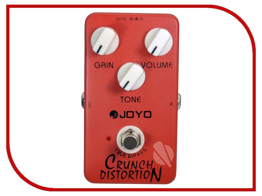 Педаль JOYO JF-03 Crunch Distortion joyo ironman jf 321 bullet metal distortion guitar effect pedal true bypass