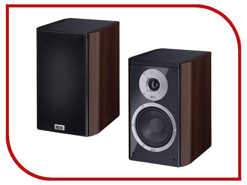Колонки Heco Music Style 200 Black-Espresso (2шт) акустика центрального канала heco music style center 2 black black