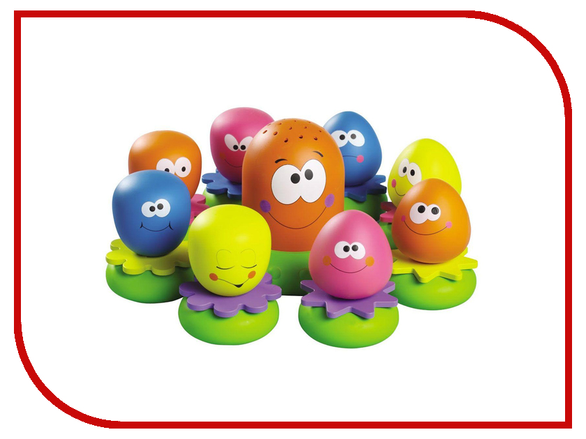 игрушка Tomy Друзья-осьминожки E2756RU tomy farm приключения трактора джонни и поросенка на ферме