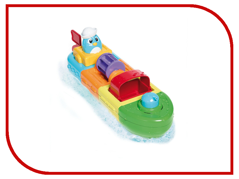 игрушка Tomy Весёлый пароход E72453 мозаика пароход