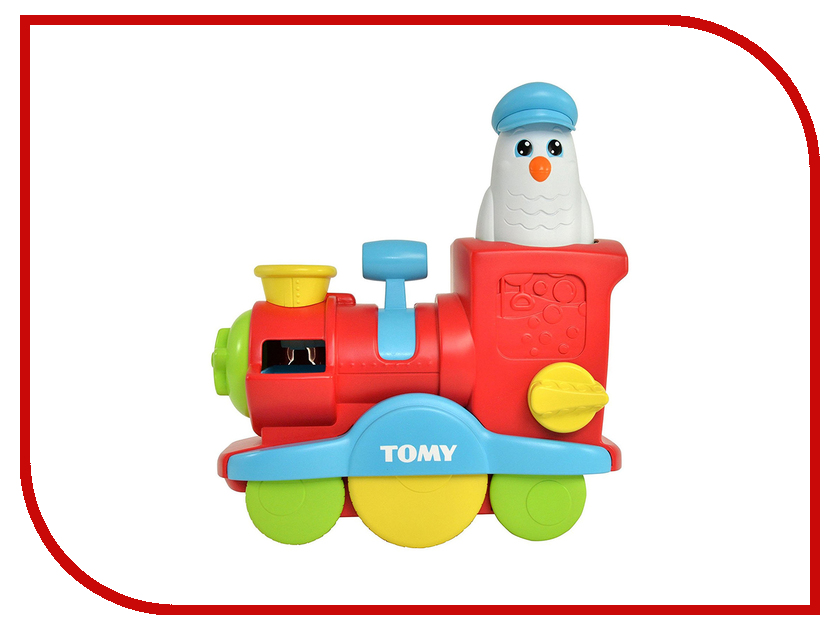 игрушка Tomy Весёлый паровозик E72549 tomy паровозик брюстер инженер
