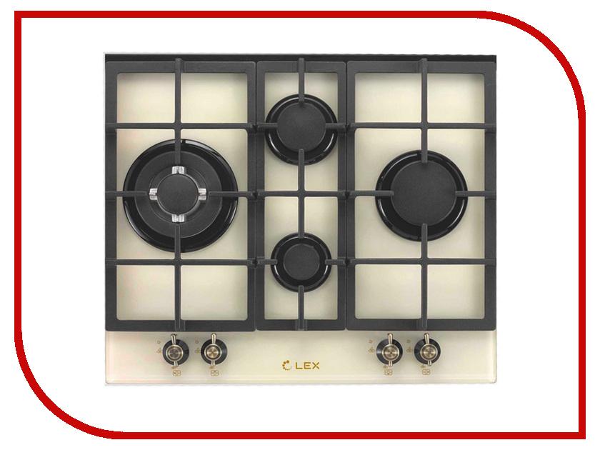 Варочная панель LEX GVE 643C IV плиты lex электрическая плита lex evh 431 bl