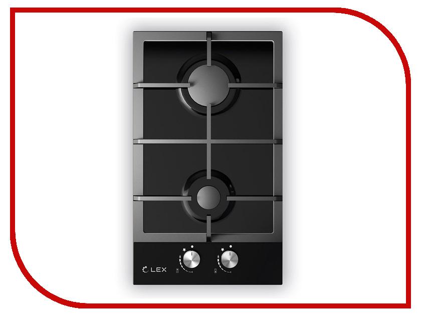 Варочная панель LEX GVG 320 BL Black плиты lex электрическая плита lex evh 431 bl