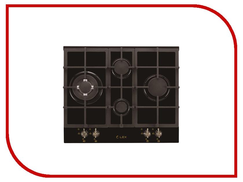 Варочная панель LEX GVG 643C BL Black электрическая плита lex evh 431 bl