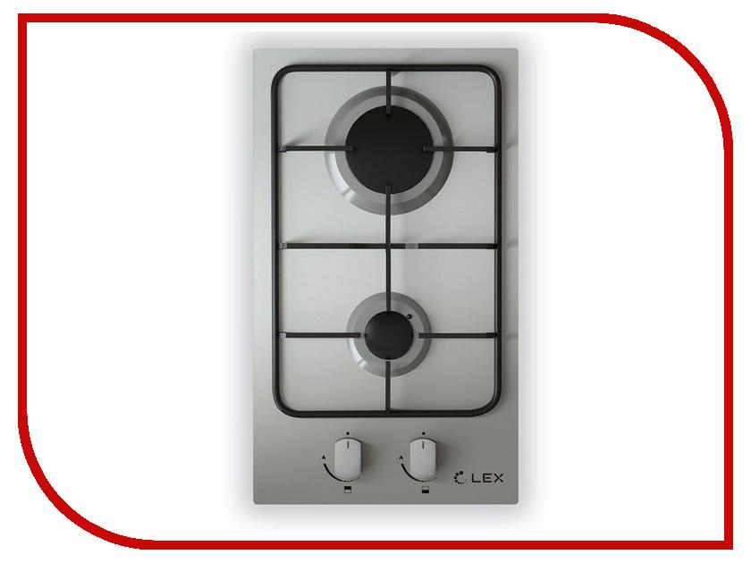 Варочная панель LEX GVS 320 IX плиты lex электрическая плита lex evh 431 bl