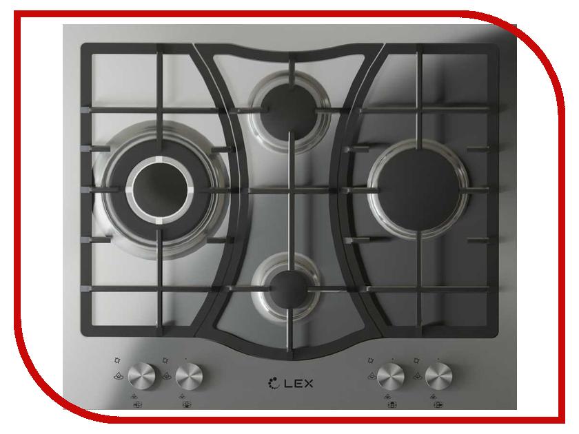 Варочная панель LEX GVS 643 IX плиты lex электрическая плита lex evh 431 bl