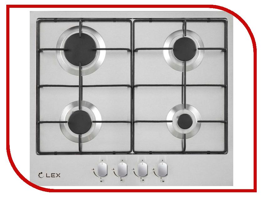 Варочная панель LEX GVS 644 IX плиты lex электрическая плита lex evh 431 bl