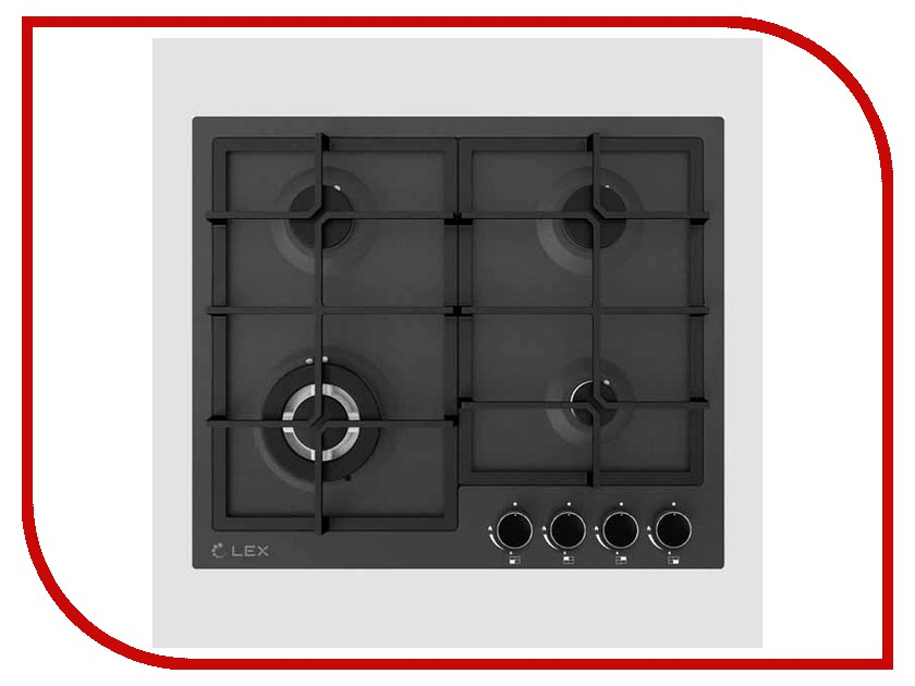 Варочная панель LEX GVS 645 BL Matt Edition электрическая плита lex evh 431 bl