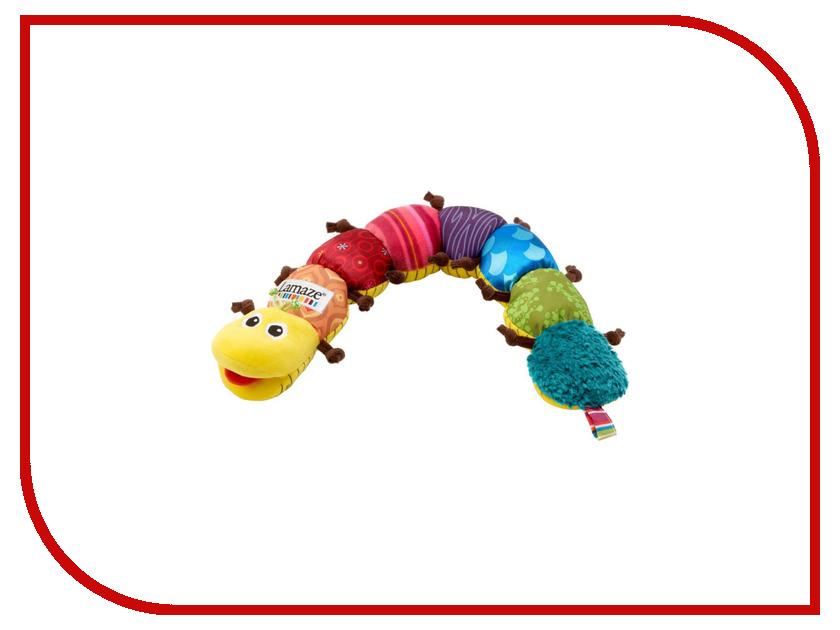 Игрушка Tomy Lamaze Музыкальная гусеница LC27107 tomy farm приключения трактора джонни и поросенка на ферме