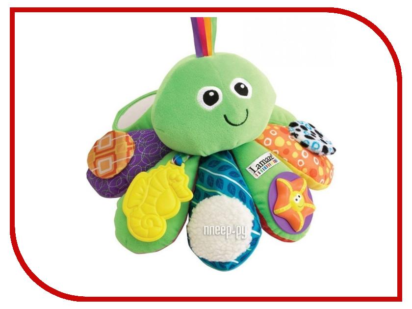 Погремушка Tomy Lamaze Активный осьминожек LC27206A игрушка tomy lamaze леопардик мурр l27563