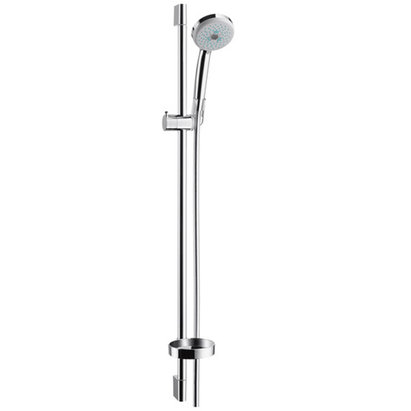 Душевая стойка Hansgrohe Croma 100 Multi Unica C Shower Set 27774000 ouboni shower set torneira no batteries led light 10 shower head bathroom rainfall bathtub chrome sink faucets mixer taps