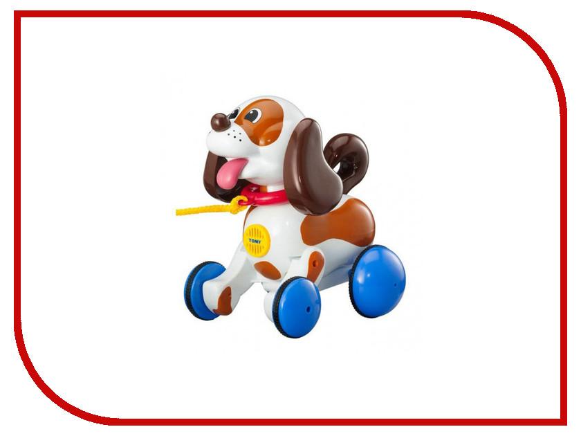 Игрушка Tomy Веселый щенок на прогулке E3862 купить веселый шарик tomy