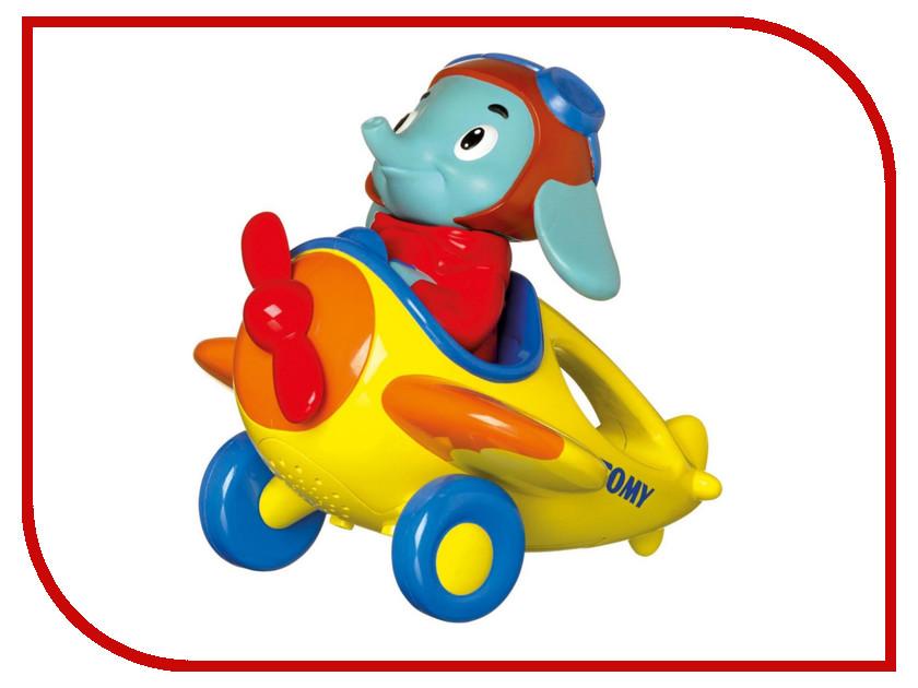 Игрушка Tomy Веселые виражи летчика Люка E72202 игрушки интерактивные tomy интерактивная игрушка веселые виражи летчика люка