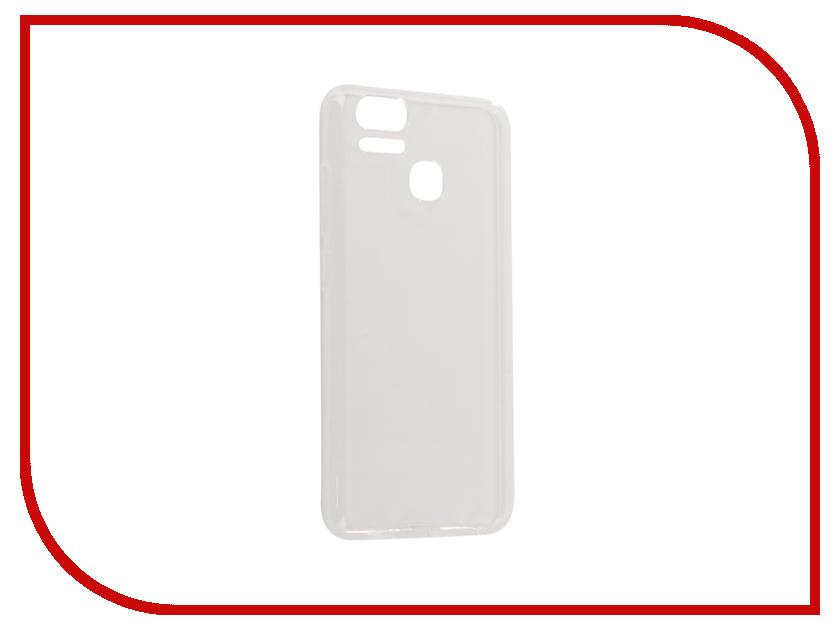 Аксессуар Чехол ASUS ZenFone 3 Zoom ZE553KL Zibelino Ultra Thin Case White ZUTC-ASU-ZE553KL-WHT аксессуар защитное стекло asus zenfone 3 zoom ze553kl zibelino tg 0 33mm 2 5d ztg asu 3 ze553kl
