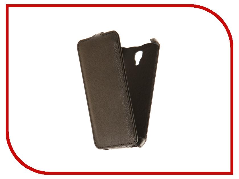 Аксессуар Чехол Alcatel Pixi 4 5045D 5-inch Zibelino Classico Black ZCL-ALC-5045D-BLK аксессуар чехол samsung galaxy j1 mini 2016 sm j105h ds zibelino classico black zcl sam j1mini 2016 blk
