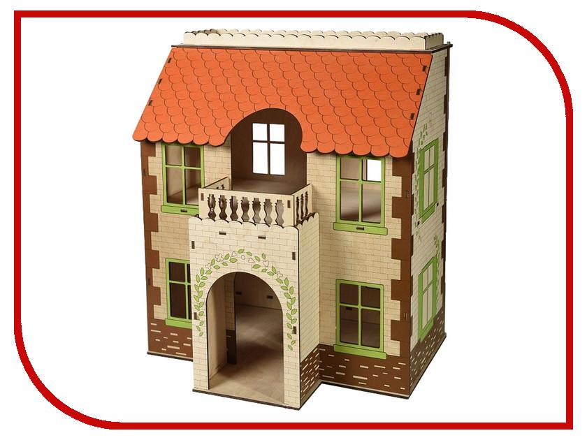 Кукольный домик ЯиГрушка Домик для кукол 59404 1 toy кукольный домик красотка колокольчик с мебелью 29 деталей