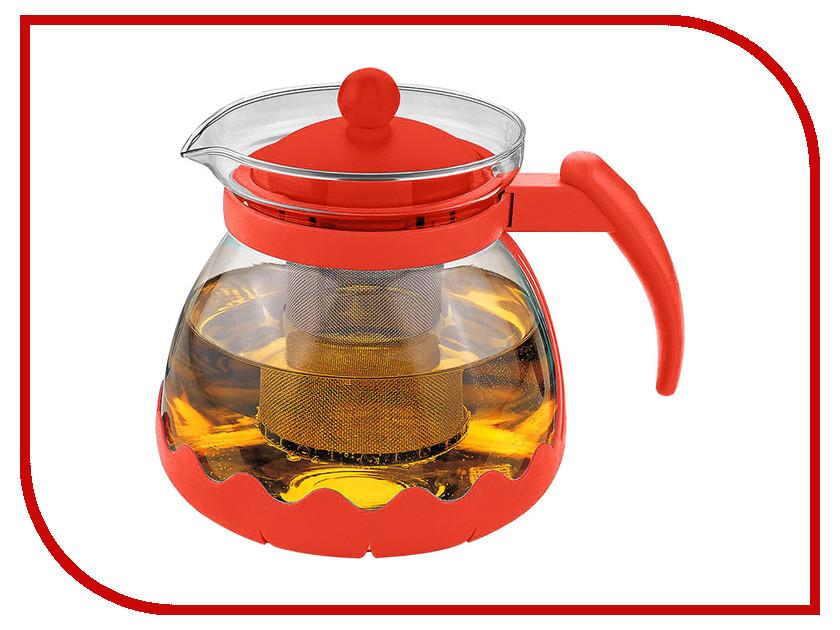 Чайник заварочный Alpenkok AK-5501/1 Red 1.1L термокружка alpenkok олени 400ml red ak 04022a