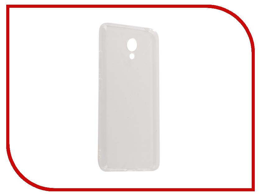 Аксессуар Чехол для Meizu M5C iBox Crystal Silicone Transparent аксессуар чехол nokia 3310 2017 ibox crystal silicone transparent