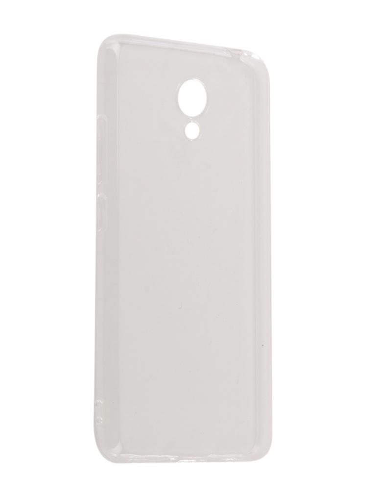 Аксессуар Чехол iBox для Meizu M5C Crystal Silicone Transparent аксессуар чехол для meizu pro 7 plus ibox crystal silicone transparent