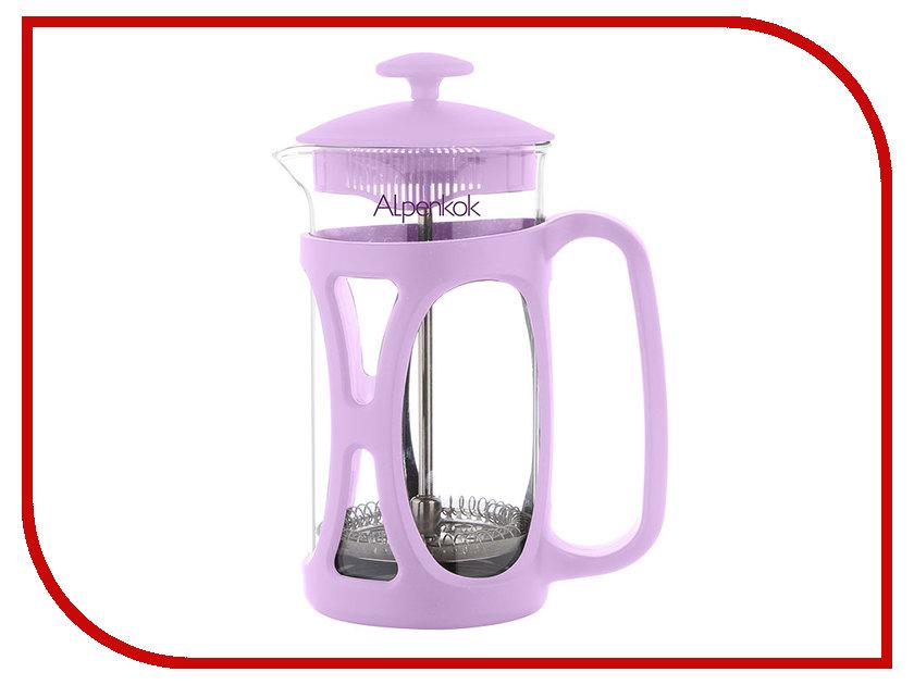 Френч-пресс Alpenkok 1L АК-703/10 Lavender