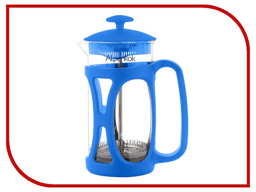 Здесь можно купить АК-701/80  Френч-пресс Alpenkok АК-701/80 Blue 800ml