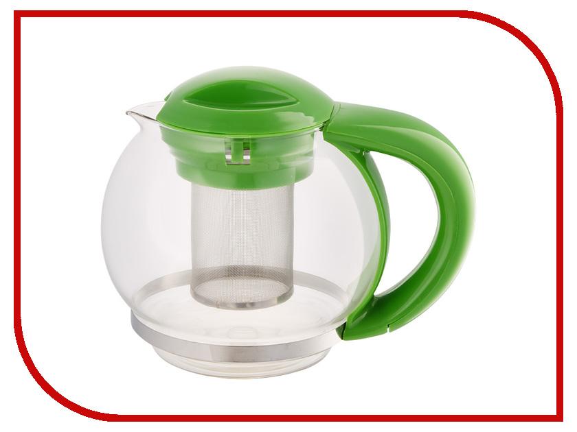 Чайник заварочный Webber 1.5L BE-5573/3 Green чайник заварочный webber be 5584 4 ромашки 800ml