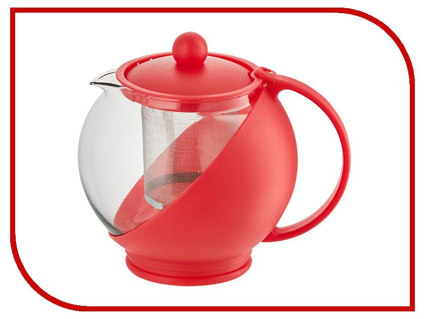 Чайник заварочный Webber BE-5570/1 Red 750ml webber форма для выпечки webber be 4270n