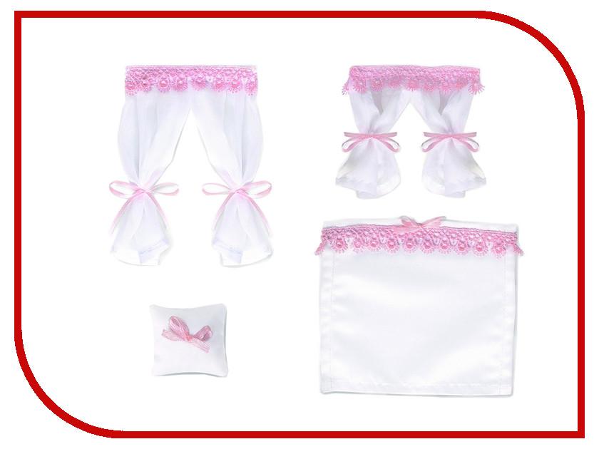 Игра ЯиГрушка Текстиль для кукольного домика Бело-розовый зефир 59645-3 зефир для костра