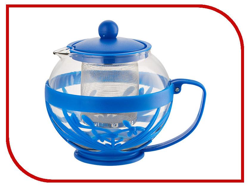 Чайник заварочный Webber BE-5572/9 Blue 750ml webber форма для выпечки webber be 4270n
