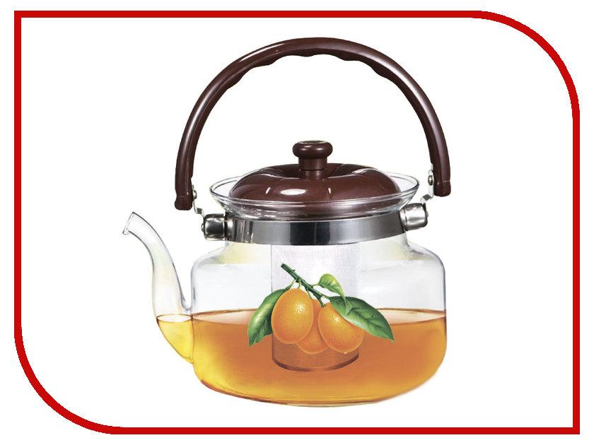 Чайник заварочный Webber BE-5562/1 Апельсин 1L чайник заварочный rosenberg rgl 250019 1 1l