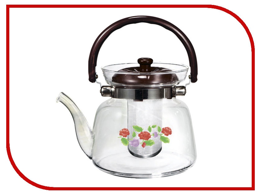 Чайник заварочный Webber 1.6L BE-5566/2 Цветы чайник webber 3l be 0569