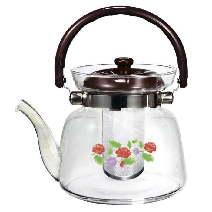 Чайник заварочный Webber 1.6L BE-5566/2 Цветы