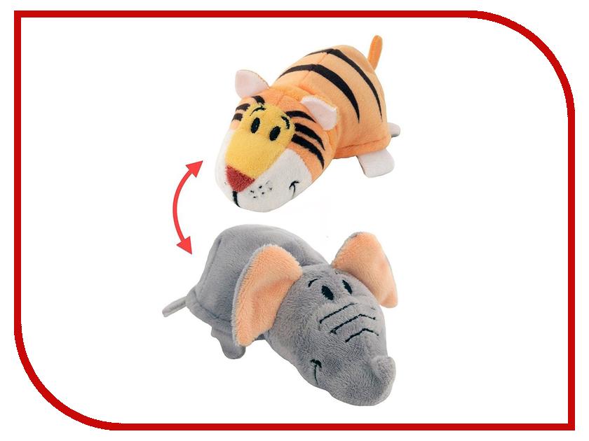 фото игрушка тигр игрушка 1Toy Вывернушка 2в1 Тигр-Слон Т10876
