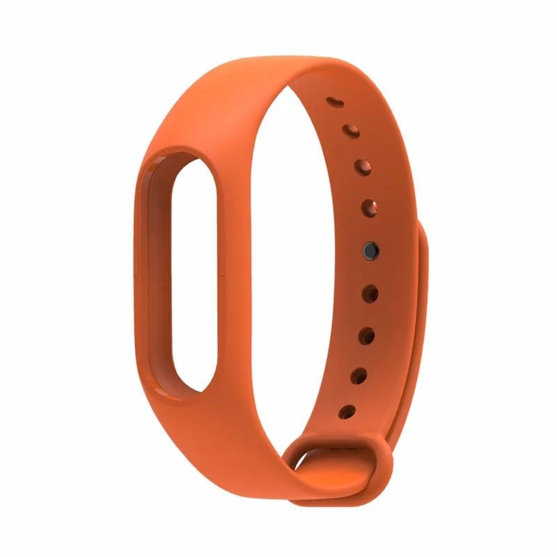 Aксессуар Ремешок Red Line for Xiaomi Mi Band 2 Silicone Orange УТ000013462