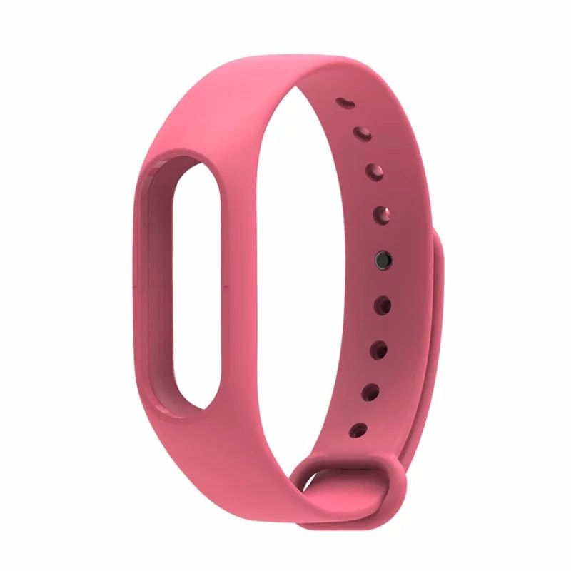 Aксессуар Ремешок Red Line for Xiaomi Mi Band 2 Silicone Pink УТ000013460