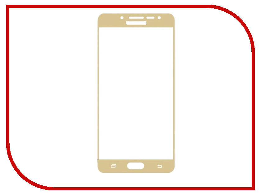 Аксессуар Защитное стекло Samsung Galaxy J2 Prime G532 Red Line Full Screen Tempered Glass Gold