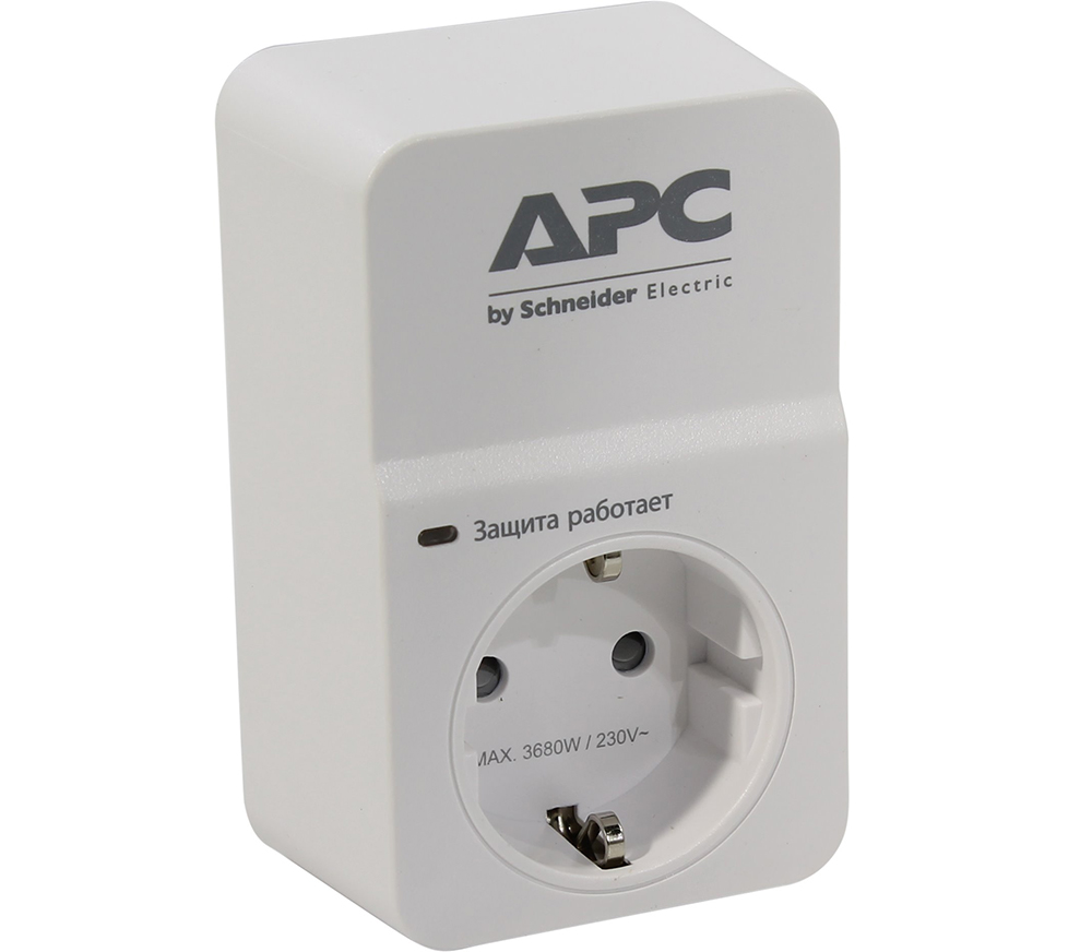 Сетевой фильтр APC PM1W-RS White