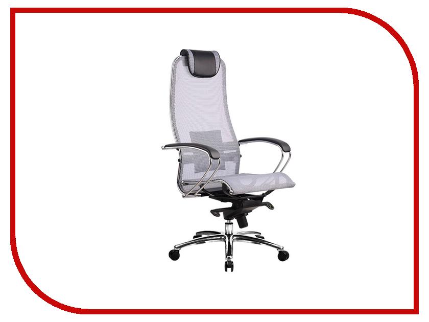 Компьютерное кресло Метта Samurai S-1.02 Grey кресло метта samurai s 1 black python edition черный сетка