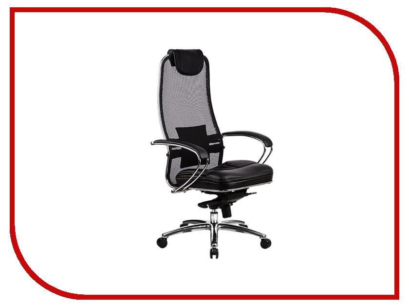 Компьютерное кресло Метта Samurai SL-1.02 Black кресло метта samurai s 1 black python edition черный сетка